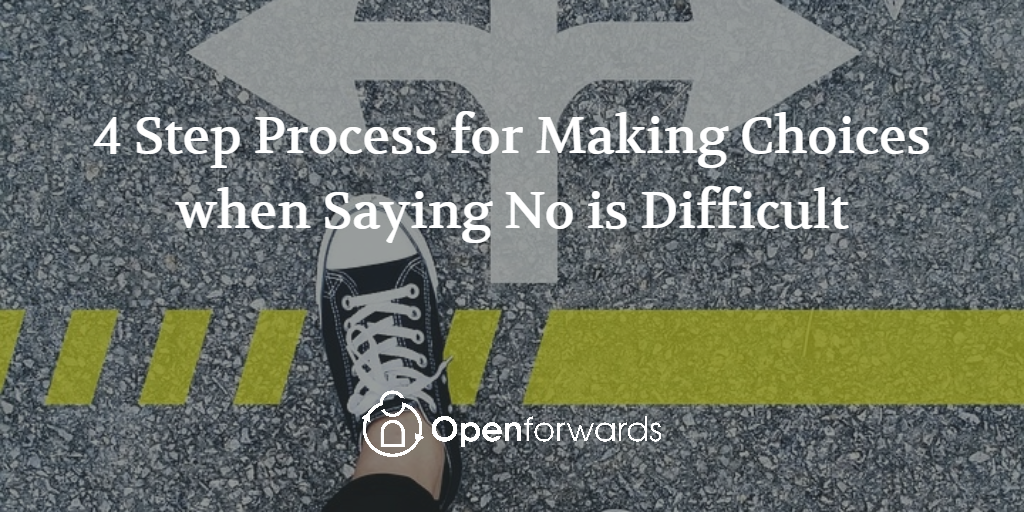 saying no is difficult