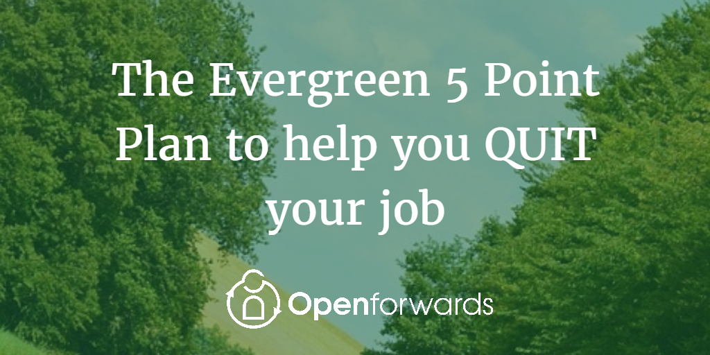 Evergreen Plan to Quit your job