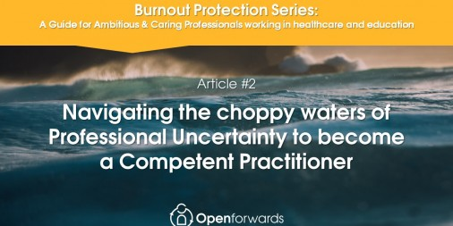 Burnout Protection Series Article #2 Navigating the seas of Professional Uncertainty to become a Competent Practitioner