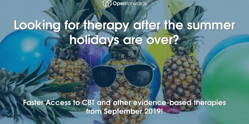 Faster Access to CBT therapy in Birmingham at Openforwards
